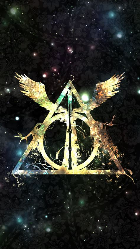 Harry Potter And The Deathly Hallows Symbol Wallpaper Wide