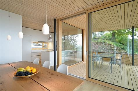 Stunning Mountain Views And A Wood-Clad Interior Shape
