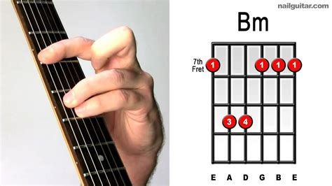 How to Play B minor - Easy Guitar Chord Lesson Tutorial