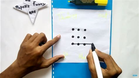 IQ Test!!9 dots puzzle!! Can you Solve this?? - YouTube