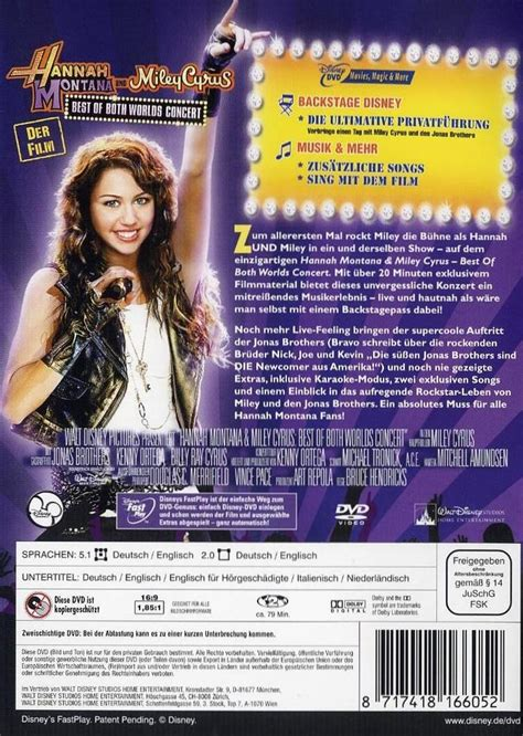 Hannah Montana & Miley Cyrus - Best of Both Worlds Concert