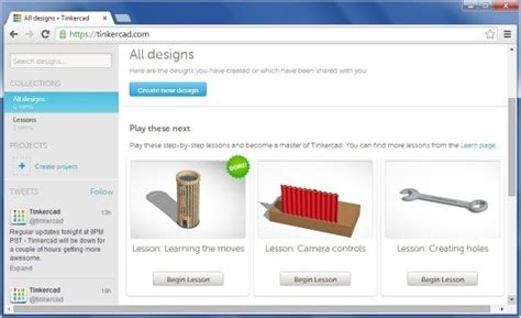 Create CAD Models For 3D Printers With Tinkercad
