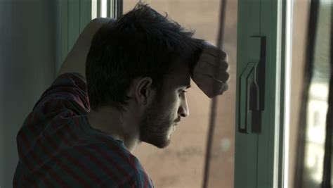 Young Sad and Depressed Man Stock Footage Video (100%