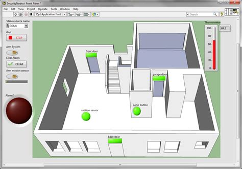 Web Based Home Automation Using Labview | LabVIEW Based