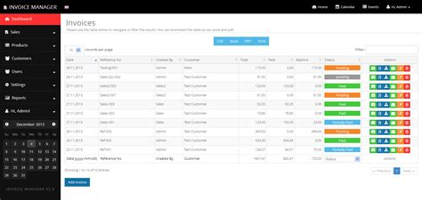 Simple Invoice Manager - Invoicing Made Easy by Tecdiary