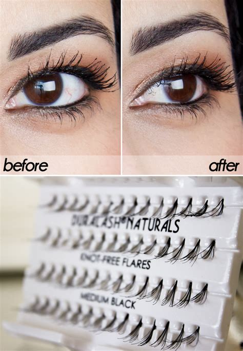 Review: Ardell Individual Lashes (Before & After)