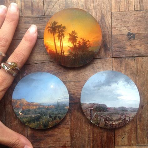 10 Miniature Hyper Realistic Paintings by Dina Brodsky