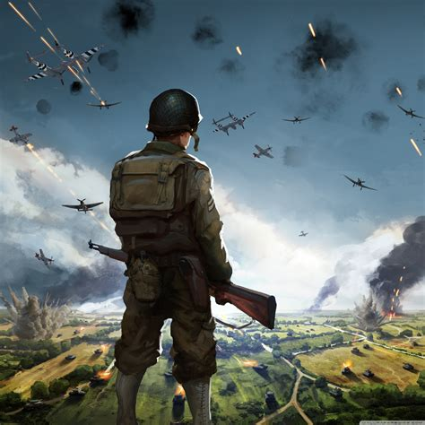 Steel Division Normandy 44 Video Game Concept Art Ultra HD