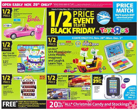 Toys R Us Black Friday Canada 2014 Flyer, Sales and Deals