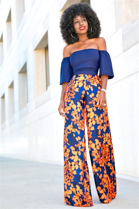Style Pantry | Short Off-the-shoulder Top + Floral Print