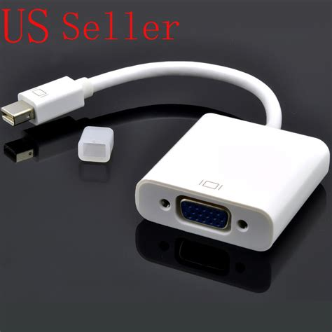 NEW Thunderbolt Mini DisplayPort to VGA Cable Adapter for