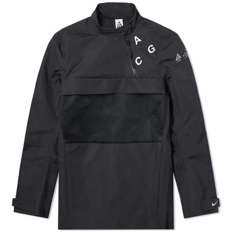 Nike Synthetic Acg Pullover Shell Jacket in Black for Men