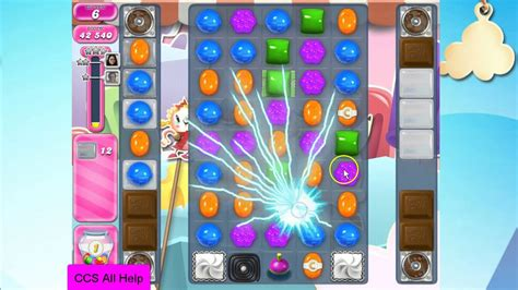 Candy Crush Saga Level 2462 NO BOOSTERS Cookie - YouTube